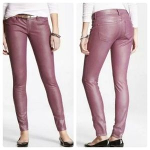 Express Women's Stella Colored Coated Jeans 00